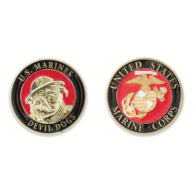 U.S. Marines Devil Dogs Coin