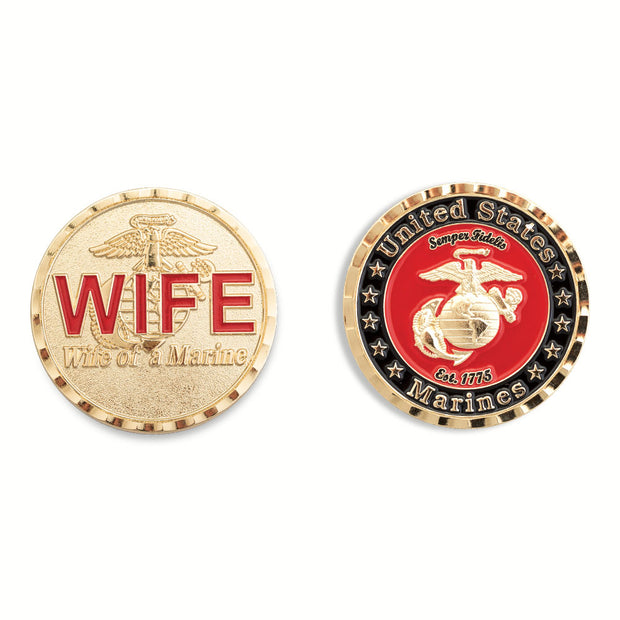 Wife of a Marine Coin