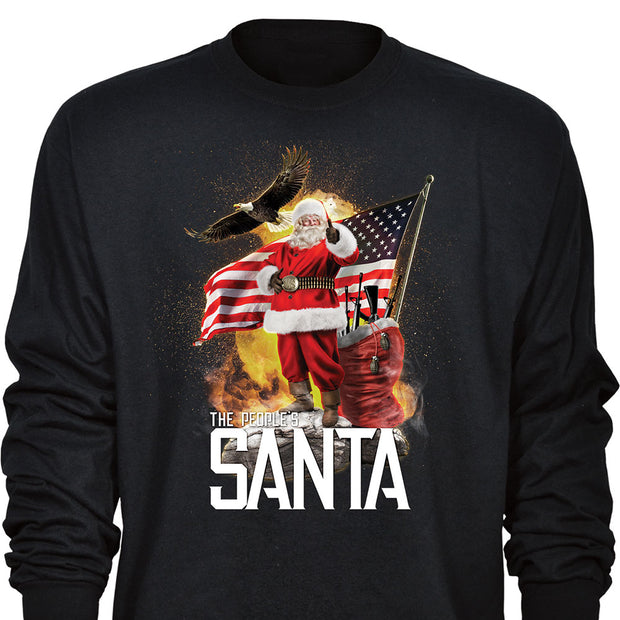The People's Santa Long Sleeve T-shirt