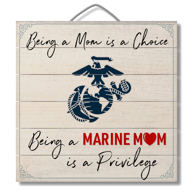 Marine Mom Sign