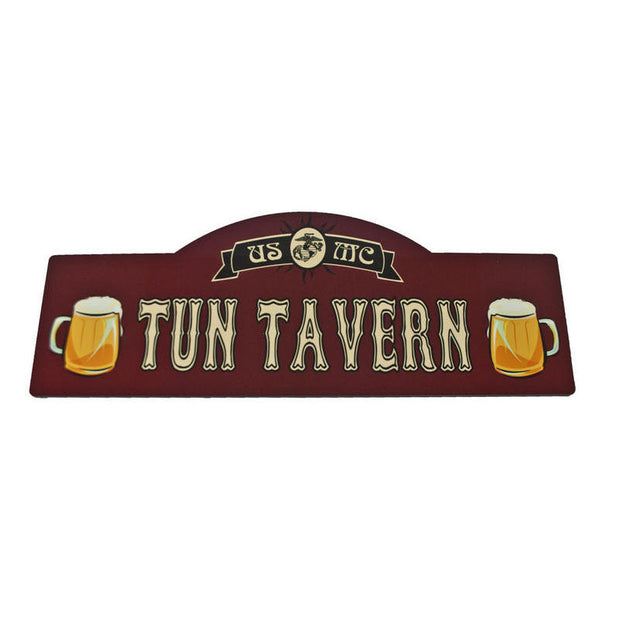Tun Tavern Wood Sign