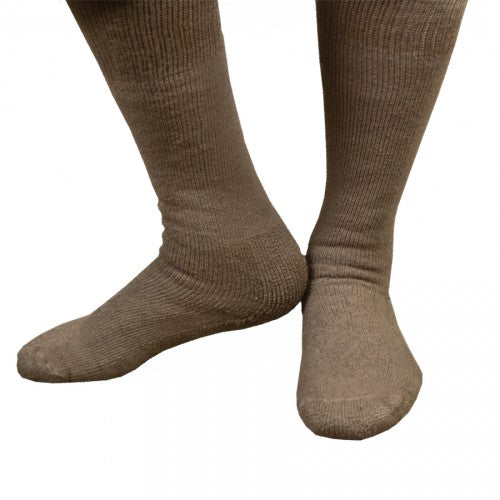 Combat Boot Thorlo Sock Coyote Brown
