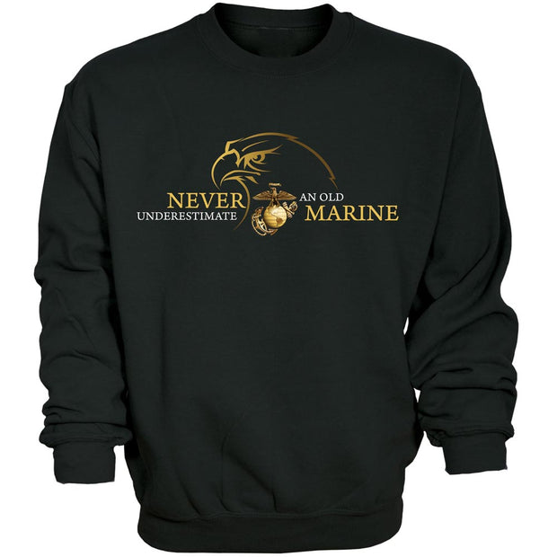Never Underestimate Sweatshirt