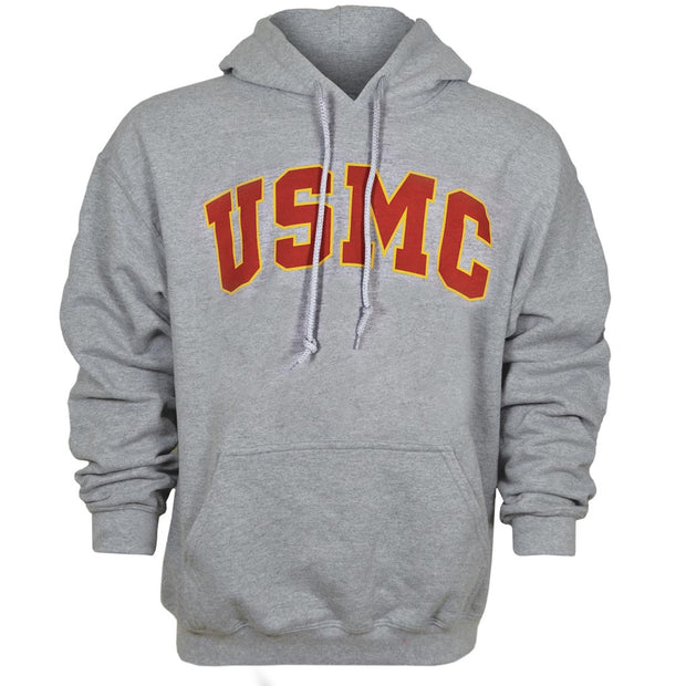 USMC Red and Gold Sweatshirt Hoodie