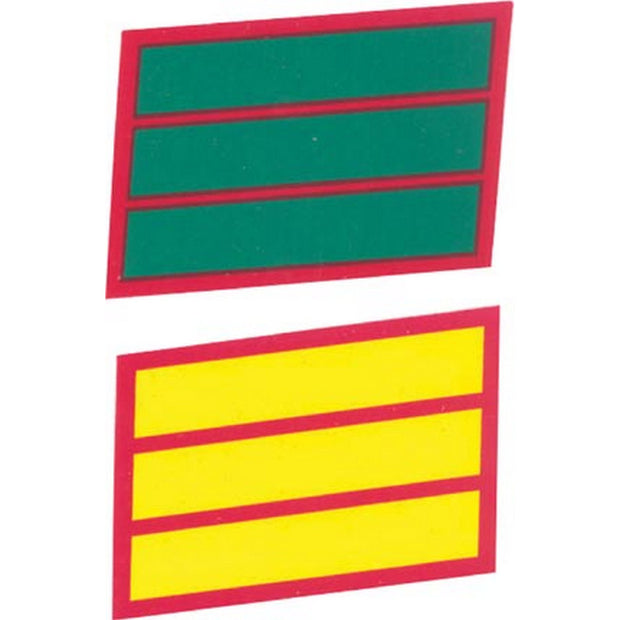 3 Service Stripes  Decal