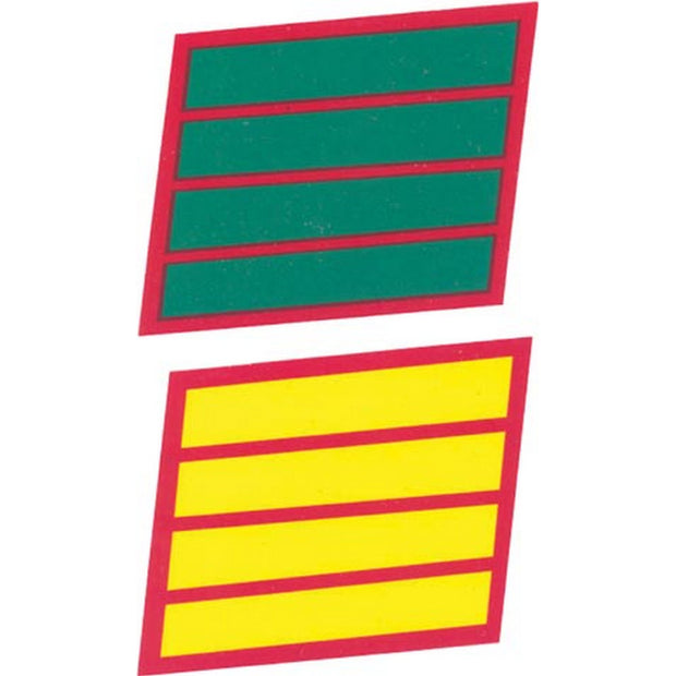 4 Service Stripes Decal