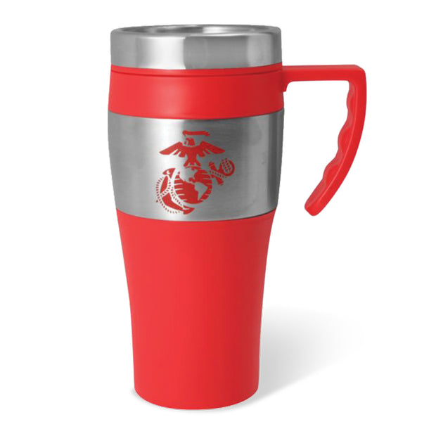 Red EGA Insulated Travel Mug