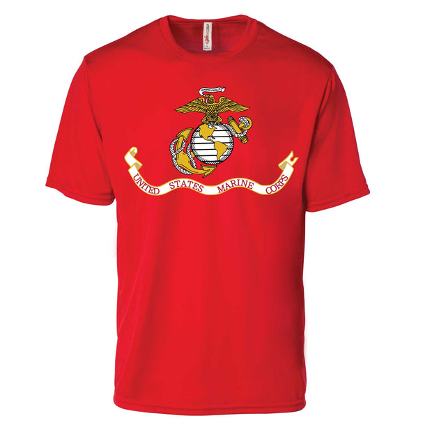 USMC Flag Performance T-shirt