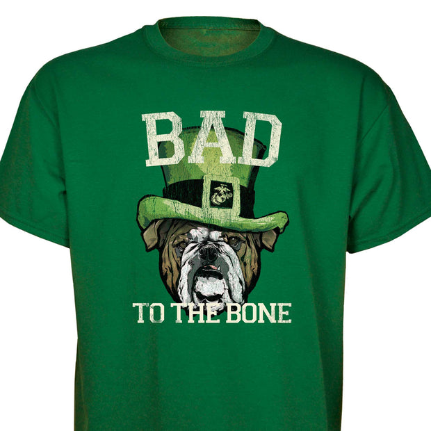 Bad to the Bone Bulldog T-shirt