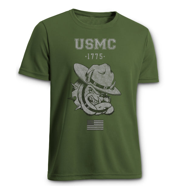 USMC Bulldog Performance T-shirt