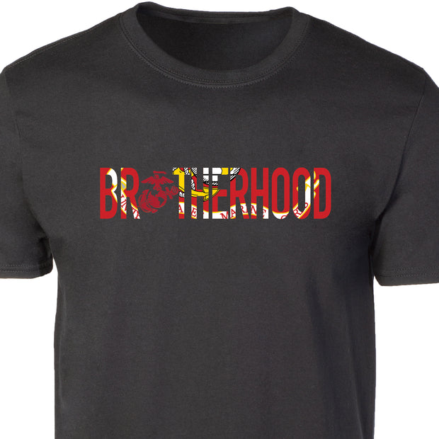 USMC Flag Brotherhood T-shirt