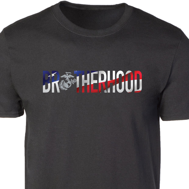 USA Flag Brotherhood T-shirt