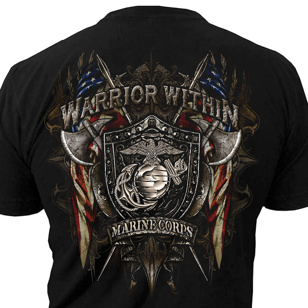 Marine Warrior Within T-Shirt