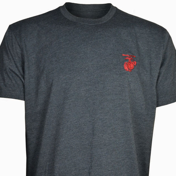 Embroidered Marine Emblem T-shirt