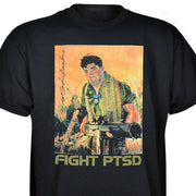 John Basilone Fight PTSD T-shirt