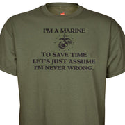 I'm A Marine & I'm Never Wrong