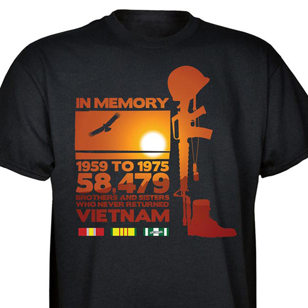 In Memory Of Vietnam T-shirt