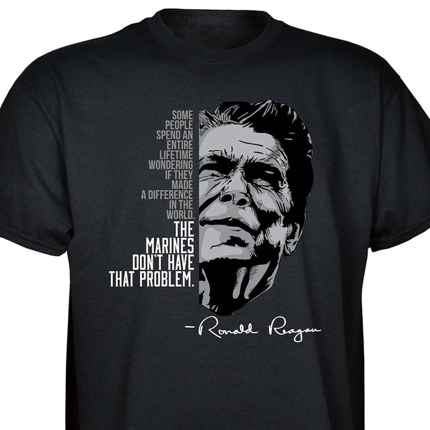 Ronald Reagan Marine Quote T-shirt