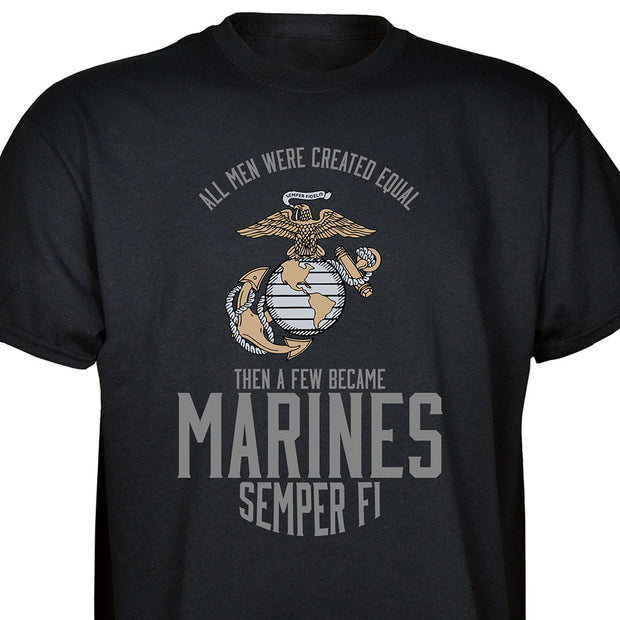 A Few Became Marines T-shirt