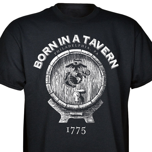 Born In A Tavern T-shirt