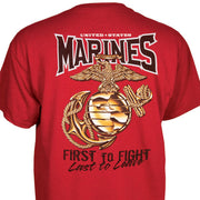 Marines First To Fight T-Shirt