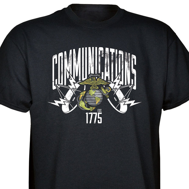 Communications Est 1775 T-shirt
