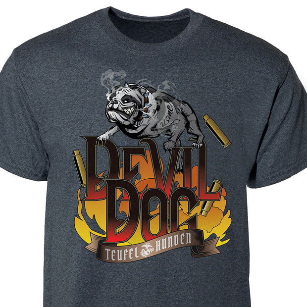 Devil Dog Teufel Hunden T-shirt