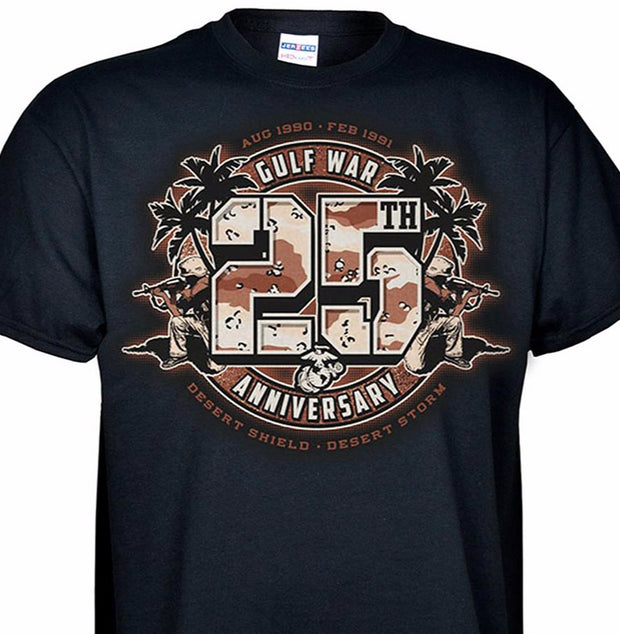 f4505099 25th Gulf War Anniversary T-Shirt.