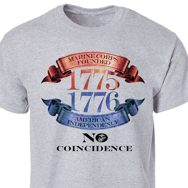 July 4th  No Coincidence T-Shirt