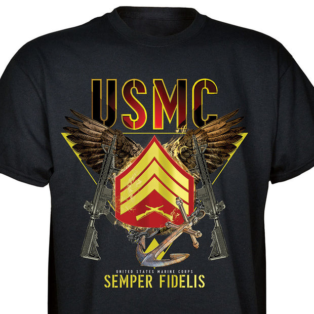 Semper Fidelis Choose  your Rank T-Shirt