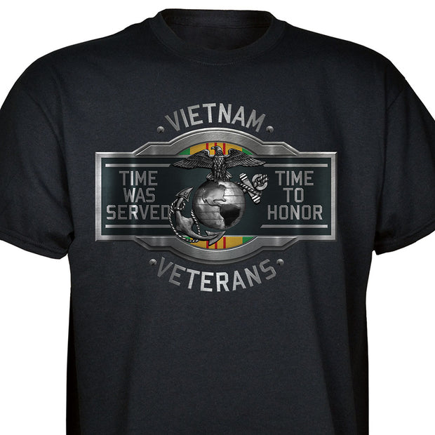 Vietnam Veterans Time To Honor T-shirt