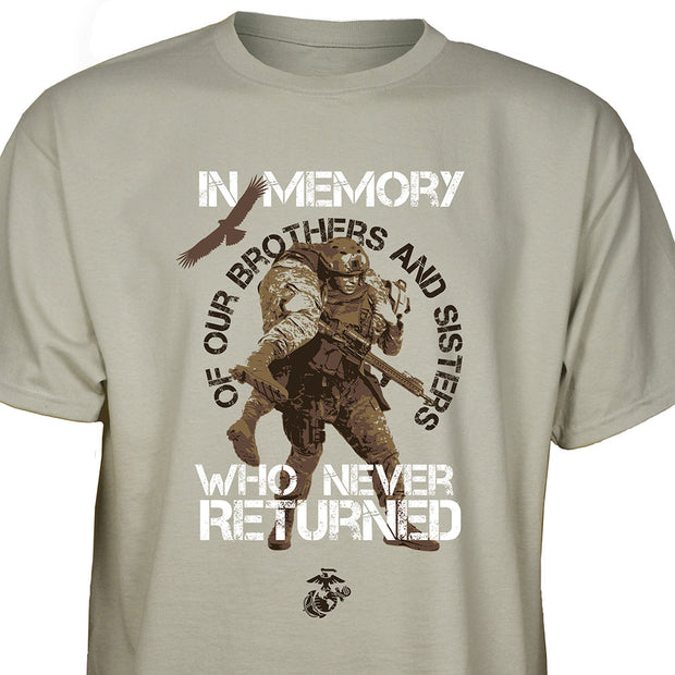 In Memory Of Who Never Returned T-shirt