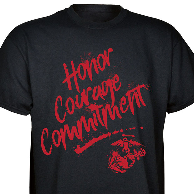 Honor Courage Commitment EGA T-shirt