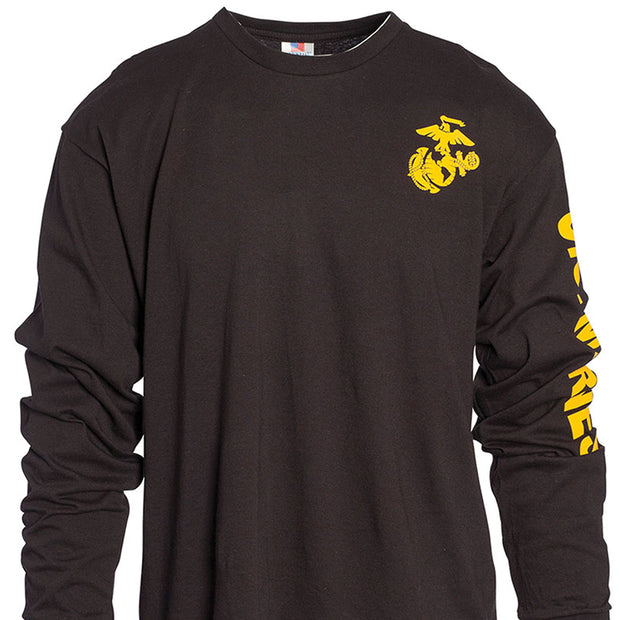 U.S. Marines Eagle, Globe, and Anchor Longsleeve T-Shirt