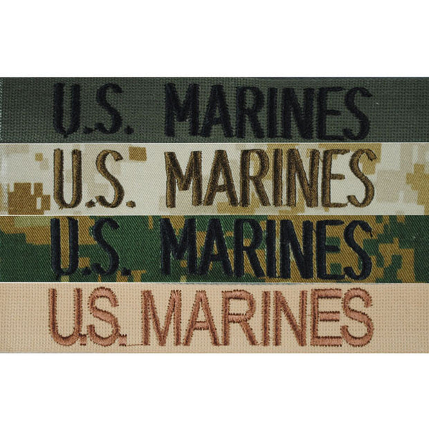 US MARINES Nametape