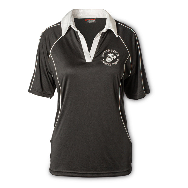 USMC Ladies Breathable Rugby Shirt
