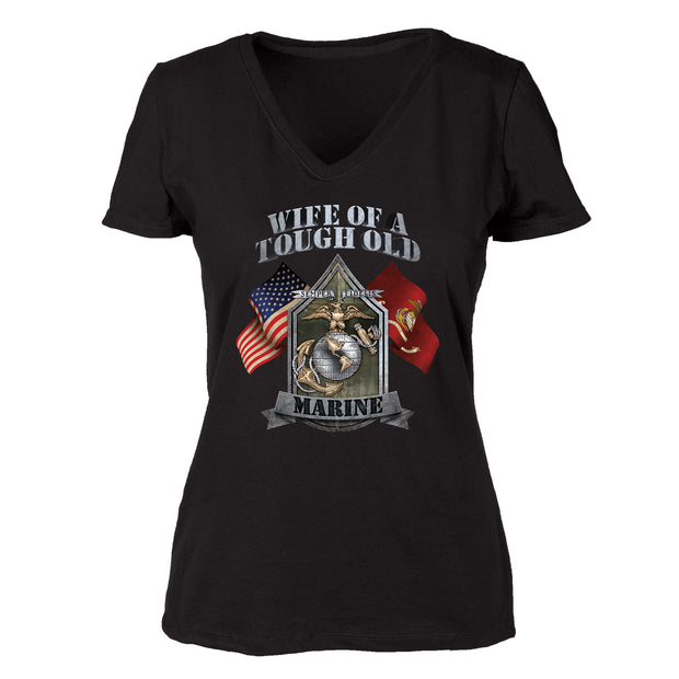 Wife of Tough Old Marine T-Shirt