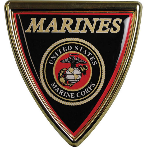 Marines Chrome Auto Emblem