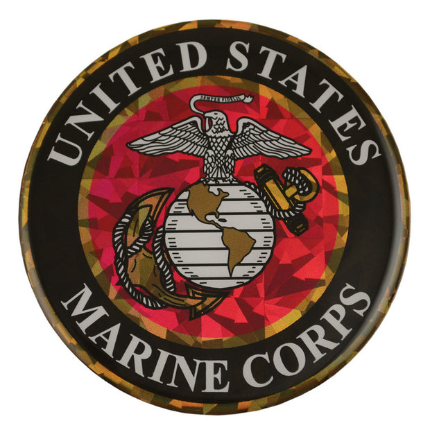 Marines Reflective Decal with 3D Doming