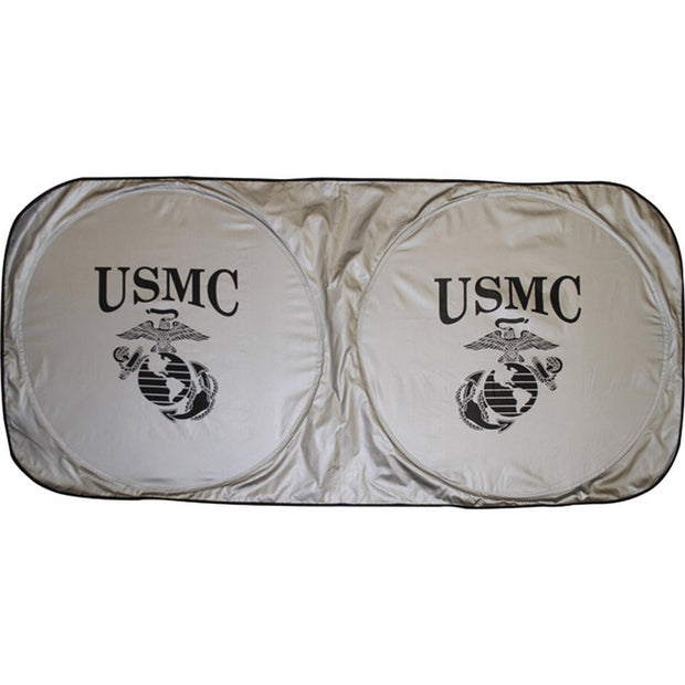USMC Eagle, Globe and Anchor Auto Sunshade