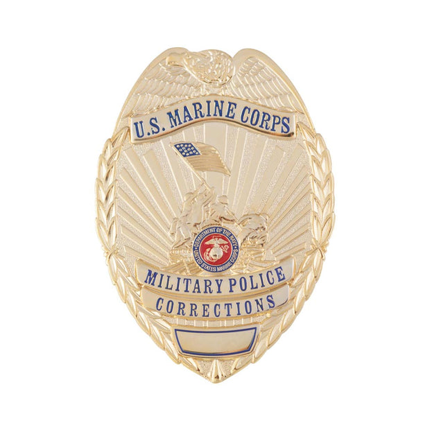 USMC Military Police Corrections Badge