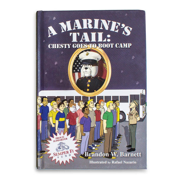 A Marines Tail Chesty Goes To Boot Camp Book