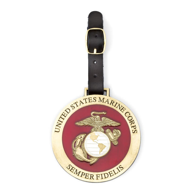 EGA Brass Bag Tag