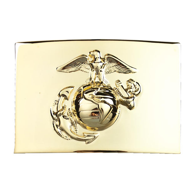 NCO Waist Plate - Eagle Globe and Anchor Dress Buckle