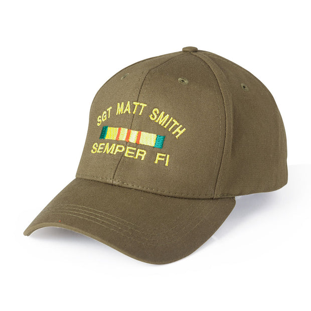 Customize Your Cover/Hat and Choose Your Marine Logo