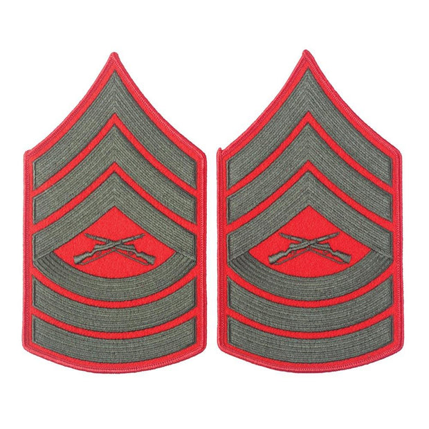 Green on Red Chevrons