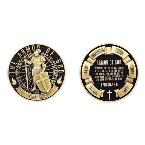 The Armor Of God Coin