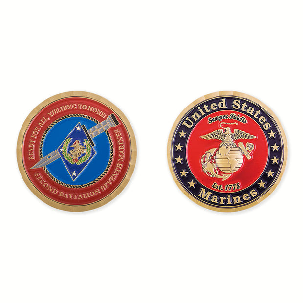 2nd Battalion 7th Marines Coin