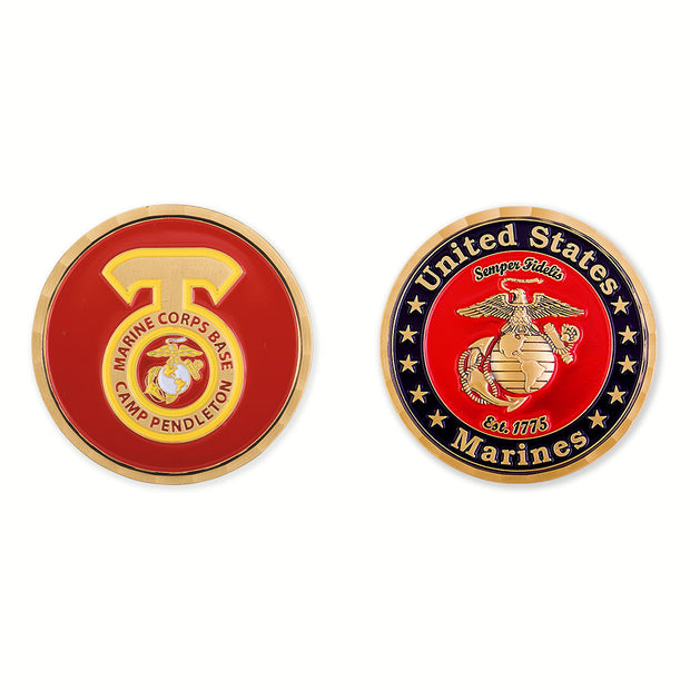 Camp Pendleton Coin