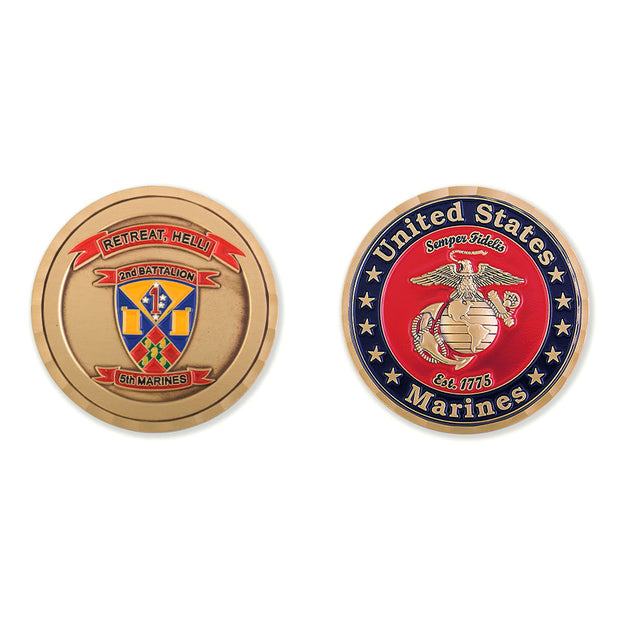 2nd Battalion 5th Marines Coin